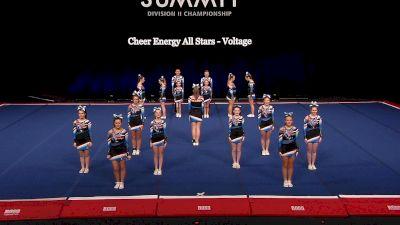 Cheer Energy All Stars - Voltage [2021 L2 Junior - Small Semis] 2021 The D2 Summit