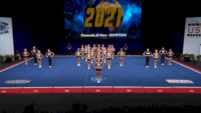 Diamonds All Stars - SHOWTIME [2021 L6 International Open Coed Non Tumbling Finals] 2021 The Cheerleading Worlds