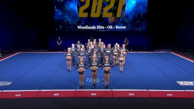 Woodlands Elite - OR - Recon [2021 L6 International Open Coed Non Tumbling Finals] 2021 The Cheerleading Worlds