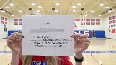 Arcadia High School [Varsity Song/Pom Advanced] 2020 USA Arizona & Utah Virtual Regional