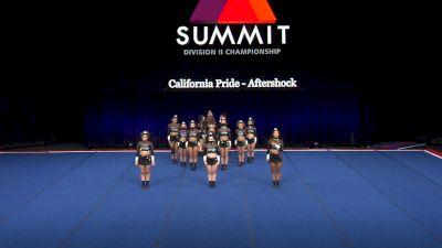 California Pride - Aftershock [2021 L2 Senior - Small Semis] 2021 The D2 Summit