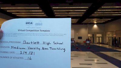 Bartlett High School [Medium Varsity Non Tumbling] 2021 UCA & UDA March Virtual Challenge