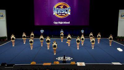 Opp High School [2021 Small Non Tumbling Finals] 2021 UCA National High School Cheerleading Championship