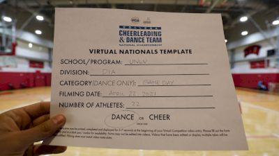 University of Nevada- Las Vegas [Virtual Division IA Game Day - Dance Finals] 2021 UCA & UDA College Cheerleading & Dance Team National Championship