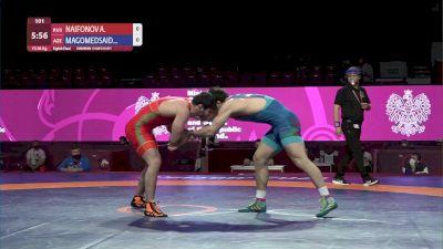 86 kg - Artur NAIFONOV (RUS) vs Gadzhimurad MAGOMEDSAIDOV (AZE)