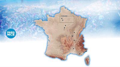 Course Flythrough: 2021 Paris-Nice