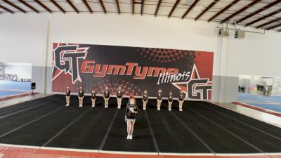 GymTyme All-Stars - Illinois - Candy Girls [L2 Youth - Small - A] 2021 NCA All-Star Virtual National Championship
