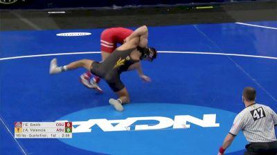 165 Quarterfinal, Anthony Valencia, Arizona vs Ethan Smith, Ohio State