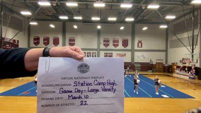 Station Camp High School [Large Varsity Game Day Virtual Semi Finals] 2021 UCA National High School Cheerleading Championship