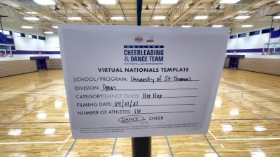 University of Saint Thomas [Virtual Open Hip Hop Finals] 2021 UCA & UDA College Cheerleading & Dance Team National Championship