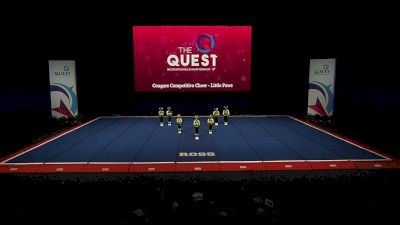 Cougars Competitive Cheer - Little Paws [2021 L1 Performance Rec - Non-Affiliated (6Y) Finals] 2021 The Quest