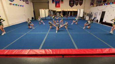 Santa Monica Athletix Xtreme - XFACTOR [L1 Performance Recreation - 12 and Younger (NON) - NB] 2021 NCA & NDA Virtual March Championship