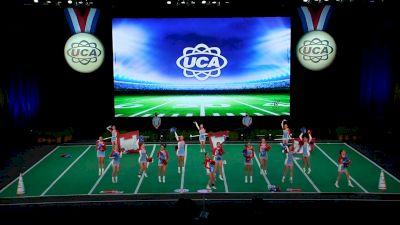 Lumberton High School [2021 Small Junior Varsity Game Day Finals] 2021 UCA National High School Cheerleading Championship