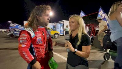 Rico Abreu Charges 13th-To-2nd At Knoxville