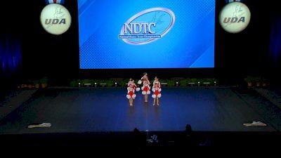 World Class All Star Dance - Dazzlers [2021 Mini - Pom Finals] 2021 UDA National Dance Team Championship