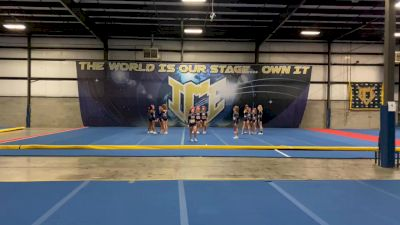 ICE All-Stars - Golden Girls [L6 Senior - Xsmall] 2021 NCA All-Star Virtual National Championship