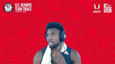Noah Lyles - Men's 200m Semifinals