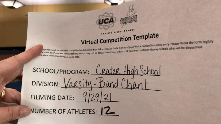 Crater High School [Varsity - Band Chant] 2021 UCA & UDA Game Day Kick-Off
