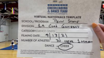 Pennsylvania State-University Park [Virtual Division IA Game Day - Cheer Semi Finals] 2021 UCA & UDA College Cheerleading & Dance Team National Championship