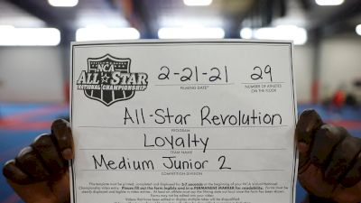 All-Star Revolution - Loyalty [L2 Junior - Medium - B] 2021 NCA All-Star Virtual National Championship