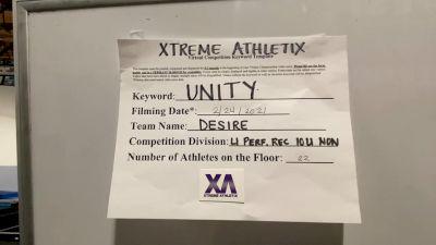 Xtreme Athletix - DESIRE [L1 Performance Recreation - 10 and Younger (NON)] 2021 Varsity Rec, Prep & Novice Virtual Challenge IV