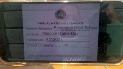 Pennridge High School [Virtual Medium Varsity Non Tumbling Game Day Semi Finals] 2021 UCA National High School Cheerleading Championship