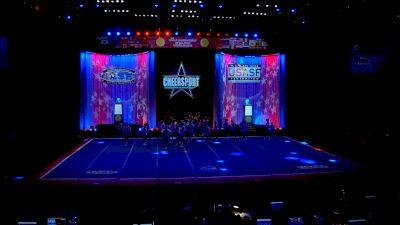 The Stingray Allstars - Marietta - Orange [2021 L6 Senior Large All Girl Semis] 2021 The Cheerleading Worlds