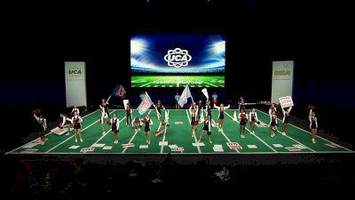 Northwest Community College [2021 Open Coed Game Day Semis] 2021 UCA & UDA College Cheerleading & Dance Team National Championship