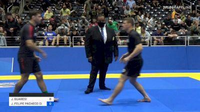 JEFERSON GUARESI vs JOÃO FELIPE PACHECO CIZESKI 2021 World IBJJF Jiu-Jitsu No-Gi Championship