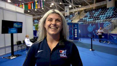 Lillian Freitas Shakes The Nerves To Bring Home Cadet Medal
