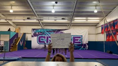 Cheer Craze All Stars Lady Warriors - Lady Warriors [L3 Junior - D2 - Small] 2021 Coastal at the Capitol Virtual National Championship