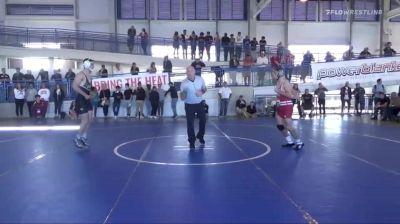 141lbs Tristan Moran, Wisconsin vs Corey Shie, Army...