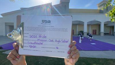 Mission Oak High School [Crowdleader Finals] 2021 USA Spirit & Dance Virtual National Championships