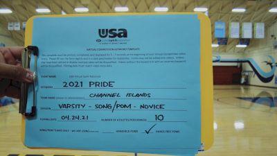 Channel Islands High School [Pep Flag - 2 Flag Finals] 2021 USA Spirit & Dance Virtual National Championships