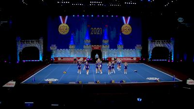 St Michael Albertville High School [2021 Small Junior Varsity Semis] 2021 UCA National High School Cheerleading Championship
