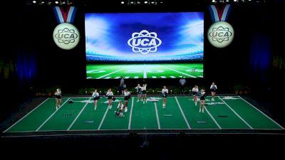 Hagerty High School [2021 Small Junior Varsity Game Day Finals] 2021 UCA National High School Cheerleading Championship