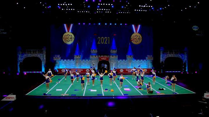 Live Oak High School [2021 Large Game Day Div II Finals] 2021 UCA National High School Cheerleading Championship