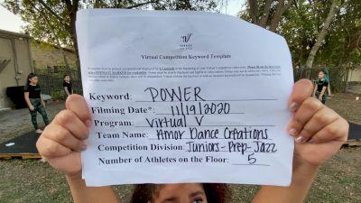 Amor Dance Creations - Amor Dance Creations [Junior - Prep - Jazz] Varsity All Star Virtual Competition Series: Event V