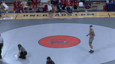 197- Noah Adams (West Virginia) vs Nick Villarreal (Fresno State)