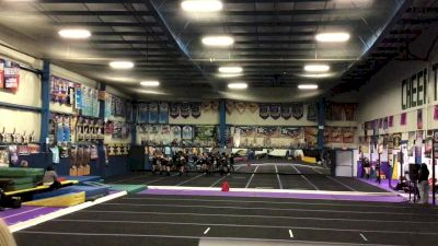Tri-Town Competitive Cheerleading - Black Ice [L4 Performance Recreation - 8-18 Years Old (NON)] 2021 Varsity Recreational Virtual Challenge II