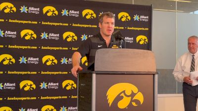 'The Stakes Are High' For Iowa Women's Wrestling