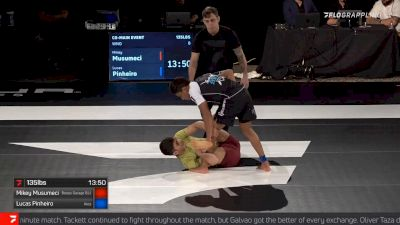 Mikey Musumeci's First Heel Hook as a Black Belt