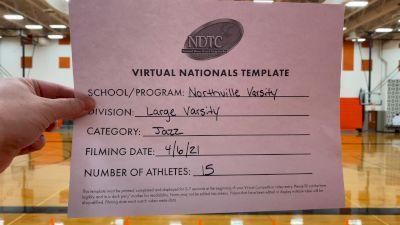Northville High School [Virtual Large Varsity - Jazz Semi Finals] 2021 UDA National Dance Team Championship