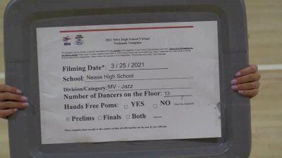 Nease High School [Virtual Medium Varsity - Jazz Prelims] 2021 NDA High School National Championship