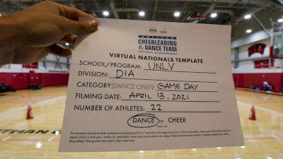 University of Nevada- Las Vegas [Virtual Division IA Game Day - Dance Semi Finals] 2021 UCA & UDA College Cheerleading & Dance Team National Championship