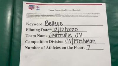 Smithville High School [Game Day JV/Freshman] 2020 NCA December Virtual Championship