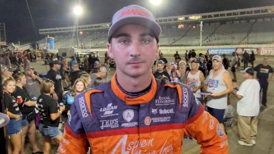 Gio Scelzi On Point After Wednesday Knoxville Nationals Qualifier