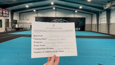 Cheer Extreme - Kiara_Sinclair - Finals [Senior Female] 2021 Battle In The Arena