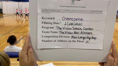 The Vision Dance Center - The Vision Dance Center Allstars [Mini - Hip Hop] 2021 Spirit Sports: Virtual Duel in the Desert