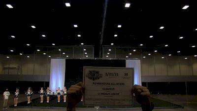 Power House All Stars - Godspeed [L1 Medium Junior] 2021 NCA All-Star Virtual National Championship